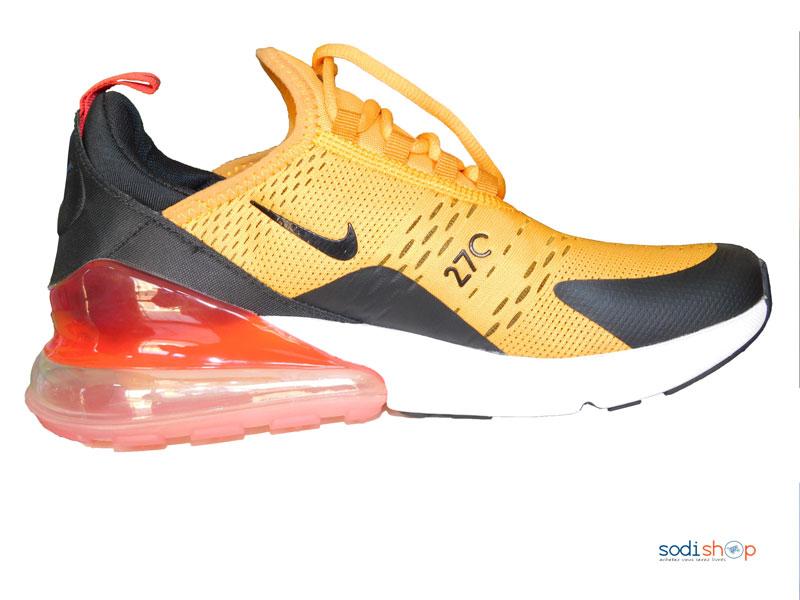 nike chaussure homme jaune