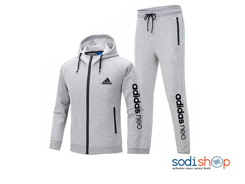 Ensemble Adidas Sweat à Capuche + Pantalon
